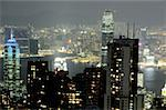 China, Hong Kong, view from Victoria Peak Stock Photo - Premium Royalty-Free, Artist: Asia Images, Code: 610-01578366