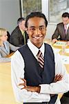 Portrait of Businessman in Boardroom    Stock Photo - Premium Rights-Managed, Artist: Artiga Photo, Code: 700-01582278