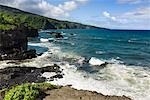Coastal Region Near Hana, Maui, Hawaii, USA
