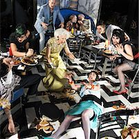 people falling - Chaotic Scene in Diner    Stock Photo - Premium Rights-Managednull, Code: 700-01585952