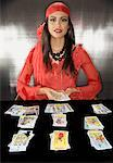 Portrait of Fortune Teller    Stock Photo - Premium Rights-Managed, Artist: Raoul Minsart, Code: 700-01586060