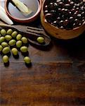 Olives    Stock Photo - Premium Rights-Managed, Artist: Siephoto, Code: 700-01586284