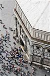 Tourists Outside Battistero di San Giovanni, Florence, Italy    Stock Photo - Premium Royalty-Free, Artist: Jeremy Woodhouse, Code: 600-01587246