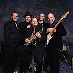 Portrait of Band    Stock Photo - Premium Rights-Managed, Artist: Bruce Fleming, Code: 700-01587494