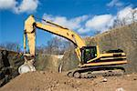 Excavator Stock Photo - Premium Royalty-Free, Artist: Transtock, Code: 614-01593299