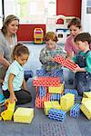 Children at Daycare    Stock Photo - Premium Rights-Managed, Artist: Masterfile, Code: 700-01593838