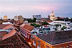 Cartagena's Cathedral and Rooftops, Cartagena, Colombia