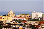 Iglesia de San Pedro Claver and Rooftops, Cartagena, Colombia