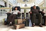 People Resting at the Mall    Stock Photo - Premium Rights-Managed, Artist: Masterfile, Code: 700-01594065