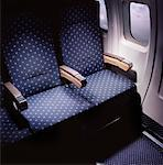 Airplane Seats    Stock Photo - Premium Rights-Managed, Artist: Philip Rostron, Code: 700-01595773