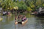 Polynesian Cultural Centre, La'ie, Hawaii    Stock Photo - Premium Royalty-Free, Artist: Mark Downey, Code: 600-01606087