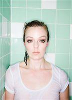 Portrait of Woman    Stock Photo - Premium Royalty-Freenull, Code: 600-01606487