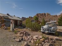 rural gas station - Old Gas Station, Eldorado Canyon, Nevada, USA    Stock Photo - Premium Rights-Managednull, Code: 700-01607350