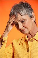 Woman Looking Worried    Stock Photo - Premium Royalty-Freenull, Code: 600-01613568