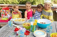 Children at Birthday Party    Stock Photo - Premium Royalty-Freenull, Code: 600-01614139