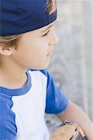 Boy Playing Baseball    Stock Photo - Premium Rights-Managednull, Code: 700-01615313
