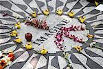 Strawberry Fields Memorial, Central Park, NYC, New York, USA    Stock Photo - Premium Rights-Managed, Artist: Edward Pond, Code: 700-01616557
