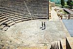 Ancient Amphitheatre in Kourion, Cyprus    Stock Photo - Premium Rights-Managed, Artist: Hugh Burden, Code: 700-01616595