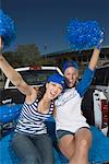 Cheering fan women Stock Photo - Premium Royalty-Freenull, Code: 621-01618928