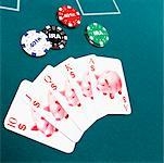 Piggy bank playing cards with investment poker chips Stock Photo - Premium Royalty-Free, Artist: Ron Fehling, Code: 604-01629850