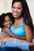 Portrait of Mother and Daughter    Stock Photo - Premium Rights-Managednull, Code: 700-01630425