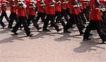 British Soldiers Marching    Stock Photo - Premium Rights-Managed, Artist: Steve McDonough, Code: 700-01645266