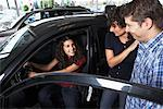 Teenager and Family Shopping For New Car    Stock Photo - Premium Royalty-Free, Artist: Masterfile, Code: 600-01645929