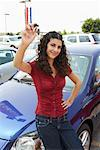 Portrait of New Car Owner    Stock Photo - Premium Royalty-Free, Artist: Masterfile, Code: 600-01645932