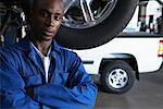 Portrait of Mechanic    Stock Photo - Premium Royalty-Free, Artist: Masterfile, Code: 600-01645966