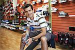 Portrait of Shoe Salesman    Stock Photo - Premium Rights-Managed, Artist: Ron Fehling, Code: 700-01646100