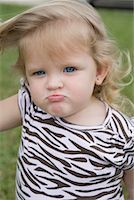 Portrait of Angry Little Girl    Stock Photo - Premium Rights-Managednull, Code: 700-01646145