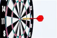 Dart in Dartboard    Stock Photo - Premium Rights-Managednull, Code: 700-01646191