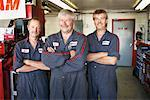 Portrait of Mechanics    Stock Photo - Premium Rights-Managed, Artist: Ron Fehling, Code: 700-01646218