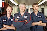 Portrait of Mechanics    Stock Photo - Premium Rights-Managed, Artist: Ron Fehling, Code: 700-01646219