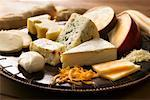 Assorted Cheese    Stock Photo - Premium Rights-Managed, Artist: Gary Gerovac, Code: 700-01646239