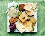 Cheese and Crackers    Stock Photo - Premium Rights-Managed, Artist: Gary Gerovac, Code: 700-01646240