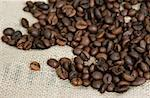 Group of coffee beans Stock Photo - Premium Royalty-Free, Artist: Albert Normandin, Code: 653-01655580