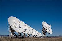 radio telescope - National Radio Astronomy Observatory (Socorro) Stock Photo - Premium Royalty-Freenull, Code: 653-01656273