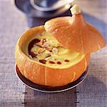 Cream of pumpkin and coffee Stock Photo - Premium Royalty-Free, Artist: foodanddrinkphotos, Code: 652-01667342