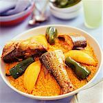 fish couscous Stock Photo - Premium Royalty-Freenull, Code: 652-01668671