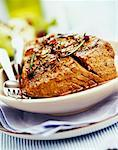 tuna in oil with seasoning Stock Photo - Premium Royalty-Free, Artist: urbanlip.com, Code: 652-01668768