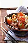 sweet and sour pork Stock Photo - Premium Royalty-Free, Artist: Photocuisine, Code: 652-01668997