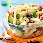 macaroni with vegetables Stock Photo - Premium Royalty-Freenull, Code: 652-01669844