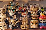 Masquerade Masks for Sale, Venice Italy