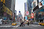 Times Square, New York City, New York, USA    Stock Photo - Premium Rights-Managed, Artist: Tomasz Rossa, Code: 700-01670882