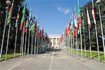 United Nations Office at Geneva, Geneva, Switzerland    Stock Photo - Premium Rights-Managed, Artist: Siephoto, Code: 700-01694386