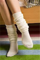 Woman's Socks    Stock Photo - Premium Rights-Managednull, Code: 700-01694616