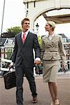 Business People Walking Together, Amsterdam, Netherlands    Stock Photo - Premium Royalty-Free, Artist: Masterfile, Code: 600-01695097