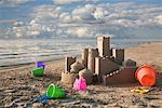 Sandcastle    Stock Photo - Premium Rights-Managed, Artist: Rick Fischer, Code: 700-01695414