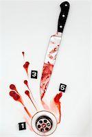 A crime scene Stock Photo - Premium Royalty-Freenull, Code: 653-01697726